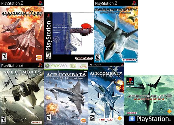 Ace Combat 2 & Assault Horizon Legacy