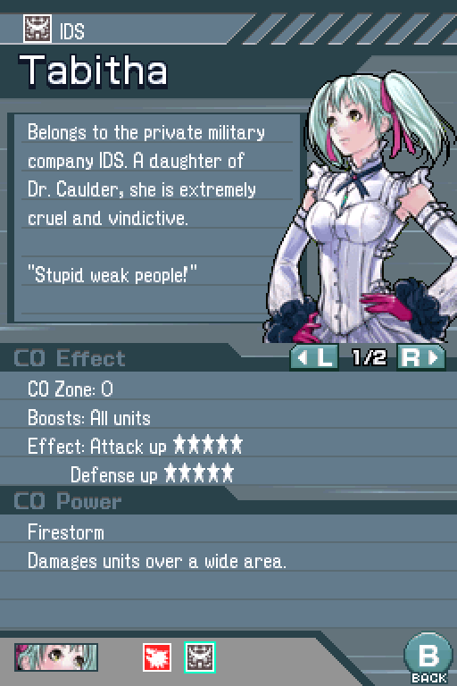 Image result for advance wars tabitha