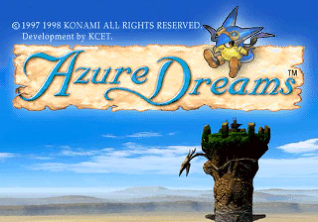 Azure Dreams is a JRPG