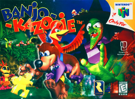 Games you wish you could play? 1-kazooie