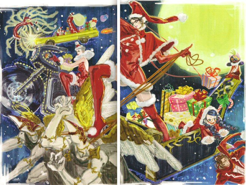 Bayonetta Part #46 - Artbook scans 2
