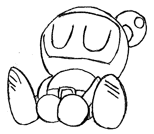 Bomberman coloring pages ~ Bomberman 64