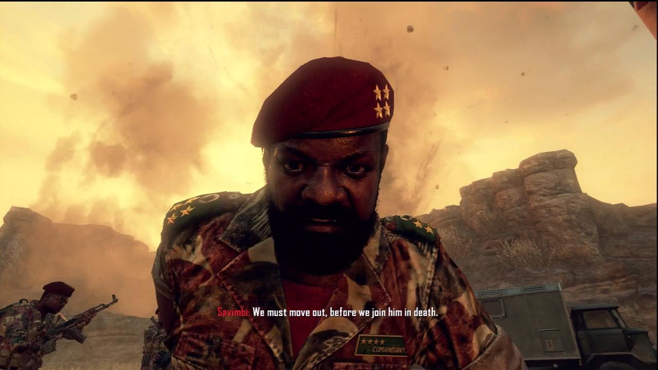 Jonas Savimbi Black Ops 2