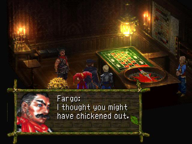 Fargo casino chrono cross