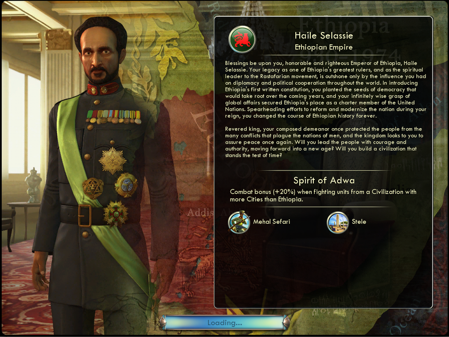 Civilization V: Gods & Kings Part #33 - The Spirit of Adwa!