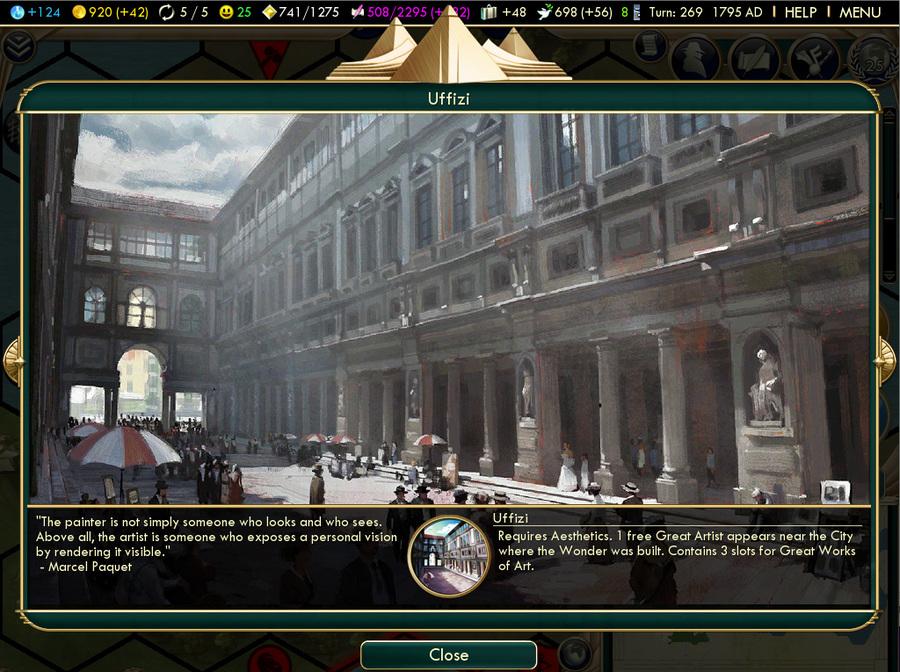 Civilization 5 art slots