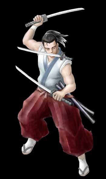 Dual Sword Fighting Poses