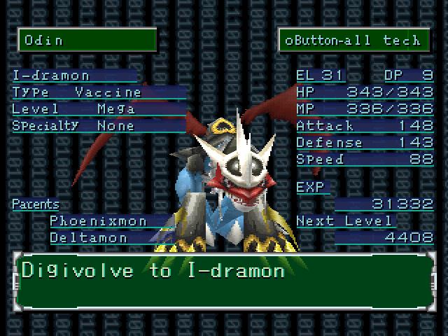 Phoenixmon Digimon World 2 digimon world 2 part #35 - the chaotic ...