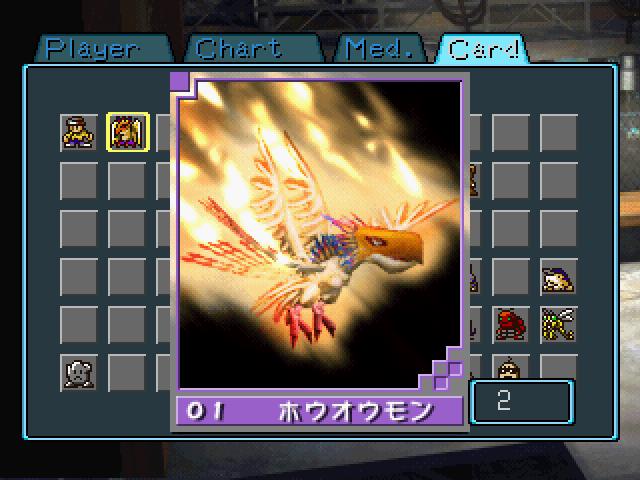 Digimon Phoenixmon Got two phoenixmon cards,