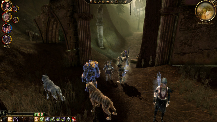 Dragon Age Origins Part 57 The Rapping Tree The blood dragon armor is really good, as is the juggernaut armor, and the massive dragonbone armor you get from the armorer in denerim. dragon age origins part 57 the