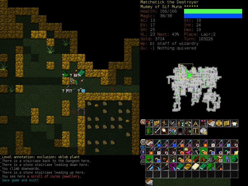 Dungeon Crawl Part #31 - Matchstick, MuWz - Five