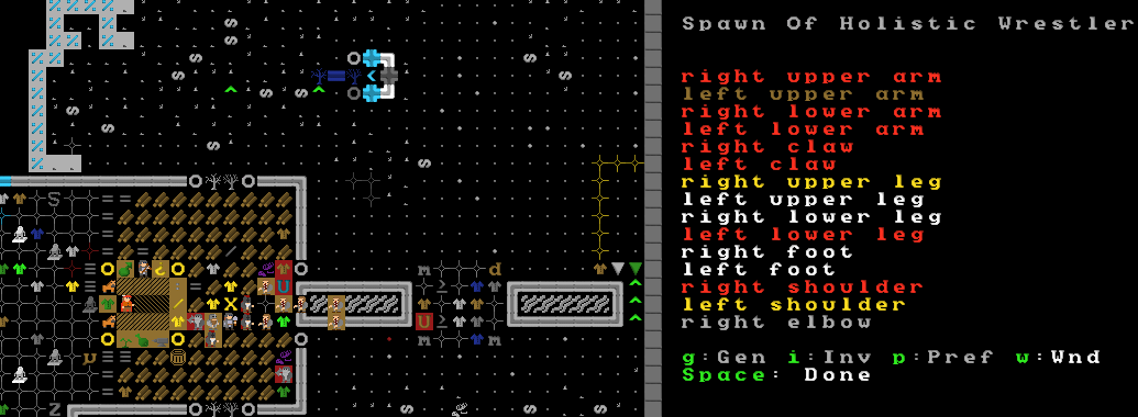 dwarf fortress how to set labors