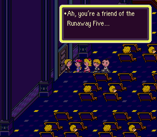 earthbound runaway five - photo #33