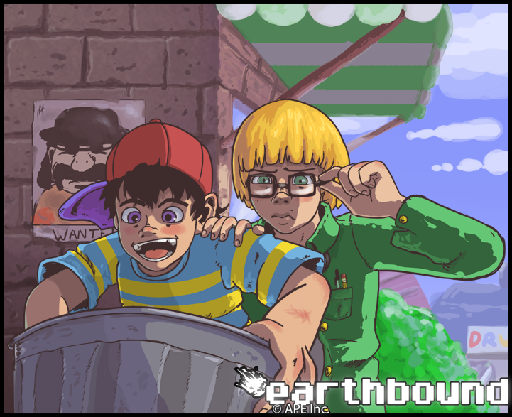 Earthbound Part #1 - What's going on here?!