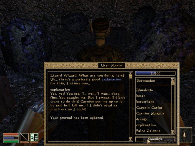 Elder Scrolls 3: Morrowind Part #34 - Wizard Lizard does the