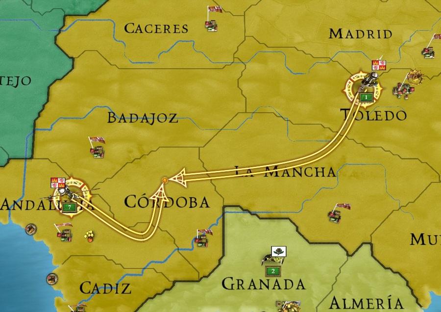 Europa Universalis III: Divine Wind Part #2 - War with Granada