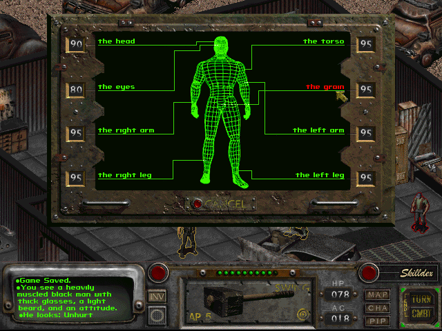 how to use vats with guns fallout 2