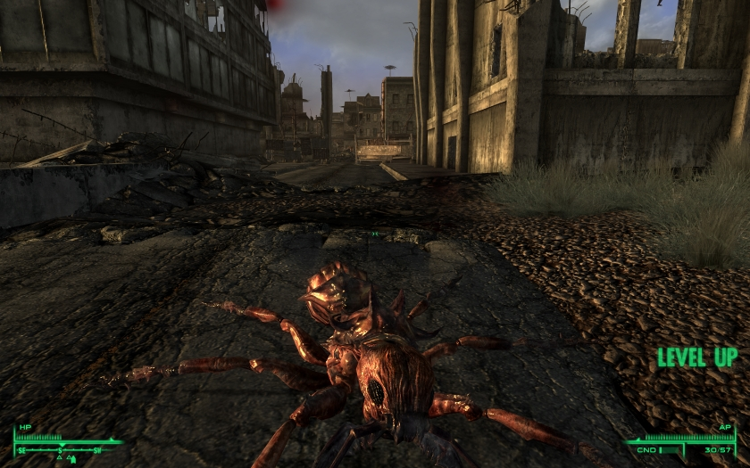how to avoid the fire ants in fallout 3