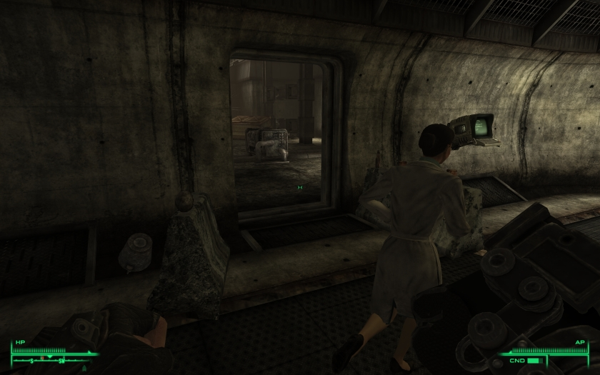 how to get into the citadel in fallout 3 glitch