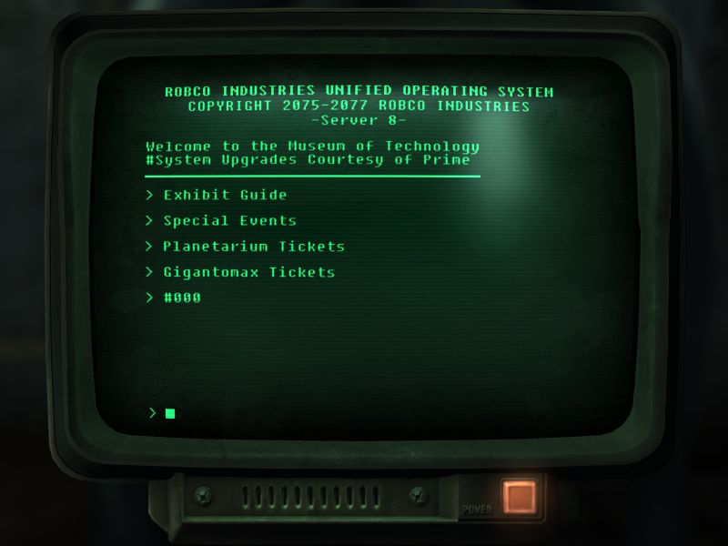 fallout 3 how to get to museum of technology