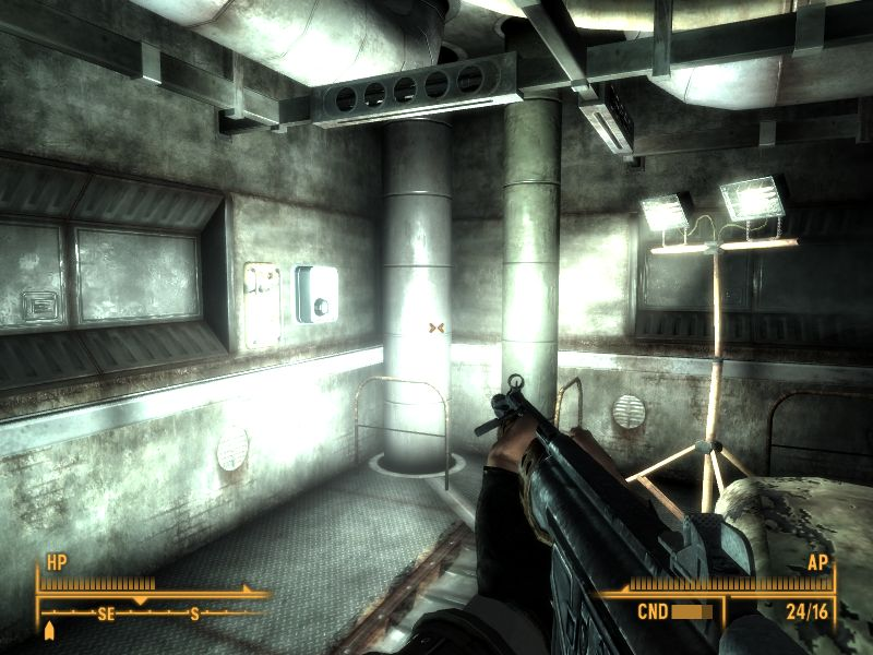 Fallout 3 part 6 rivet city for Vault terraform