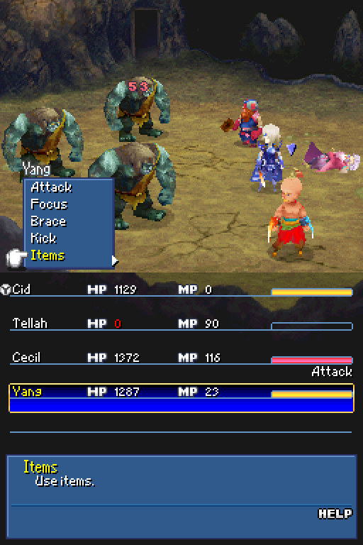 Final Fantasy IV: Advance and DS Part #71 - DS Dark Elves have