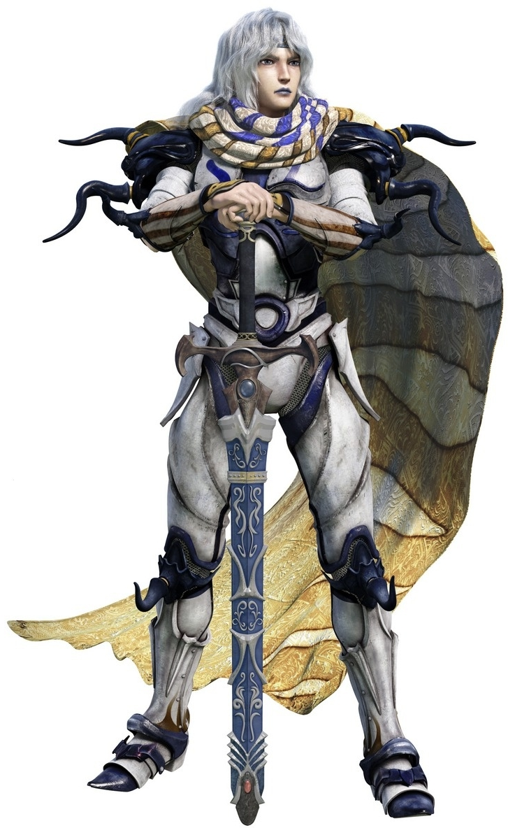 Complete Collection CGI Render of Cecil  Now I see where Ceodore s    Final Fantasy Iv Cecil Sprite
