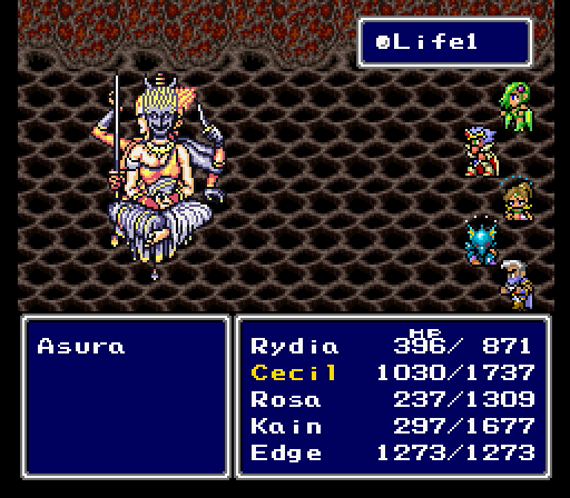 Final Fantasy Iv Part 26 Cecil Gets Defensive