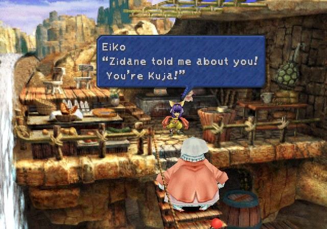 Image result for quina ff9 screenshot