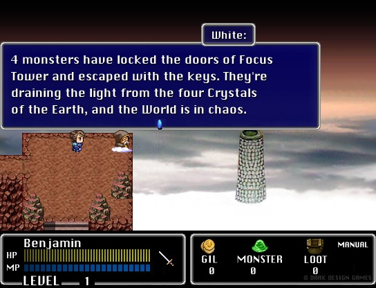 Final Fantasy Mystic Quest Remastered Part #1 - Level Forest