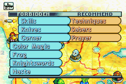 how to get steal ability ffta
