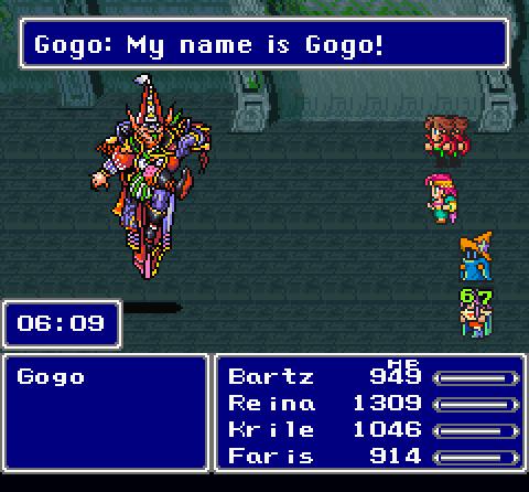 Bartz Final Fantasy V
