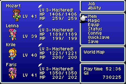 9217a1adb58 Final Fantasy V Challenge Megathread Part  109 - Mozart s  17 Dance Tune