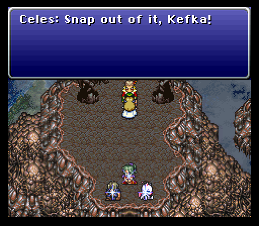 Celesu0027 Timing Couldnu0027t Have Been Worse, As Kefka Simply Bats Her Away And.