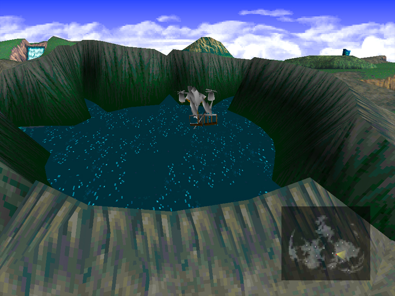 some more flying around theres now this huge crater near the junon area