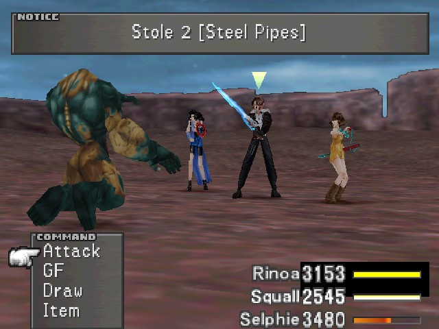 Wendigos have Steel Pipes. I want Steel Pipes.  sc 1 st  The Letu0027s Play Archive & Final Fantasy VIII Part #100 - Part One Hundred: Train Man