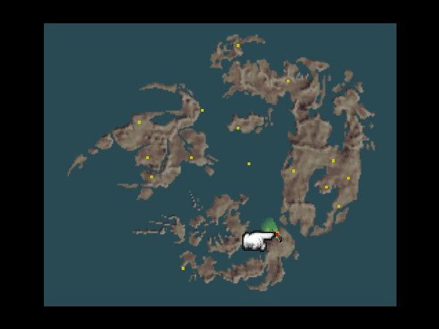 Final fantasy viii part 113 part one hundred and thirteen time see way out in the kashkabald desert is this red dot on the map red dots mean vehicles gumiabroncs Gallery