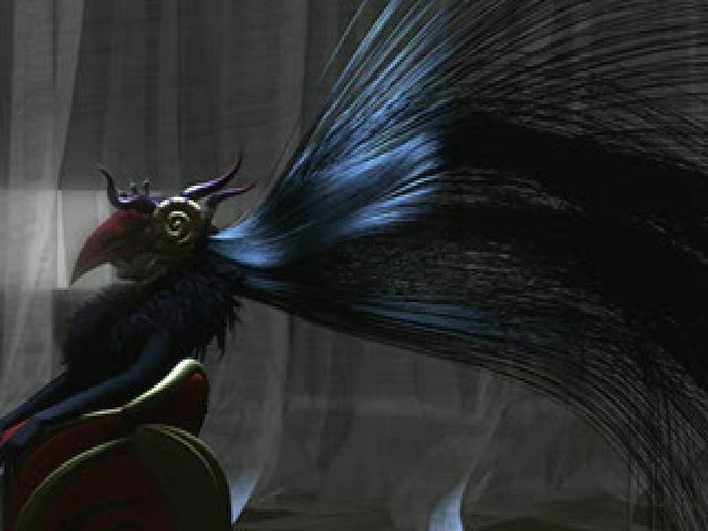 First Up Shes Seated In Both Scenes Though Deling City Facing Away Remember If You Will That Edea Shows Wearing A Mask