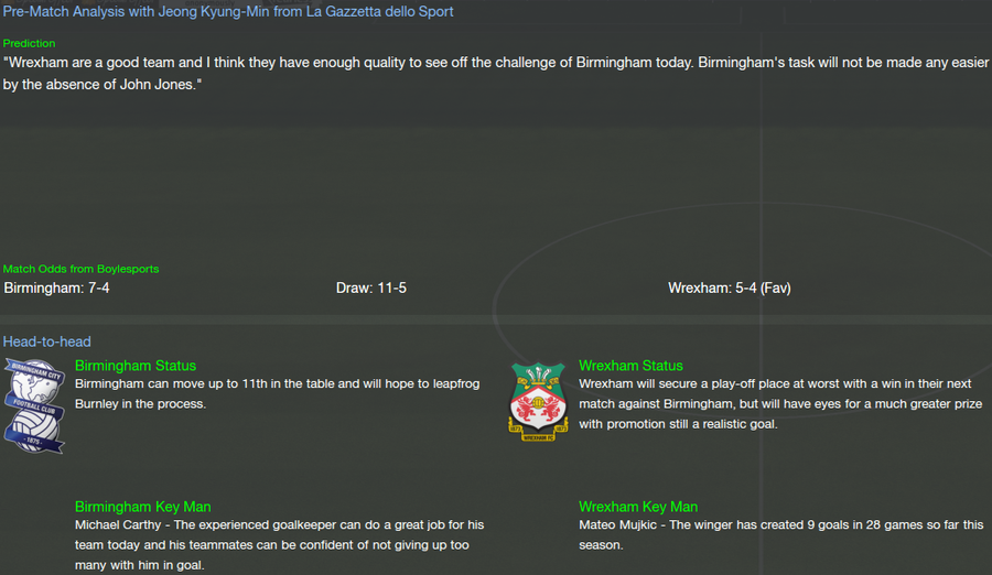 FOOTBALL MANAGER NOT ELIGIBLE FOR PROMOTION