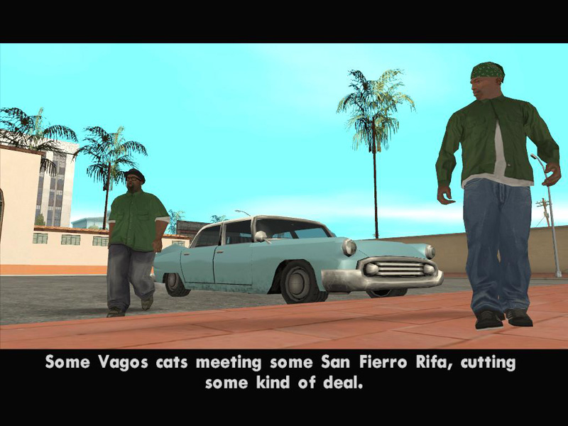 Grand Theft Auto: San Andreas Part #16 - Behind The Scenes