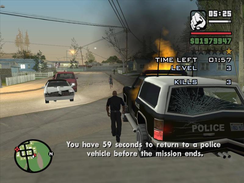 Grand Theft Auto: San Andreas Part #80 - Behind The Scenes - Vigilante