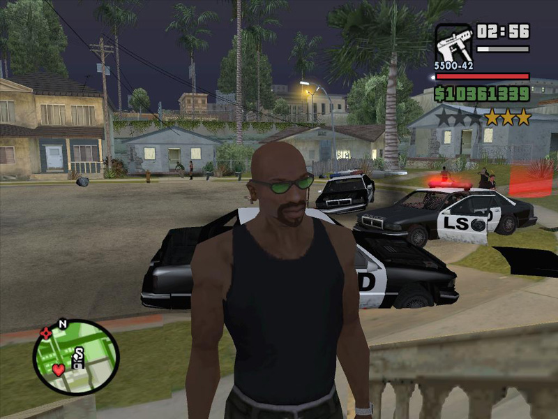 Grand Theft Auto: San Andreas Part #101 - Behind The Scenes - Gang