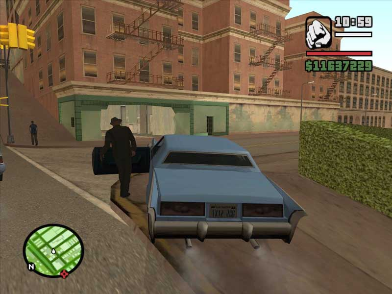 Grand Theft Auto: San Andreas Part #106 - Behind The Scenes - The