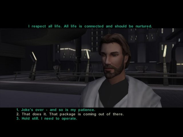 knights of the old republic how to kill a rakgoul