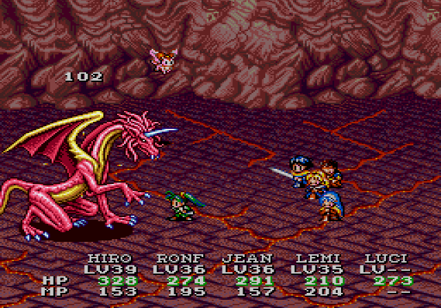Lunar: Eternal Blue Part #44 - Red Dragon Cave