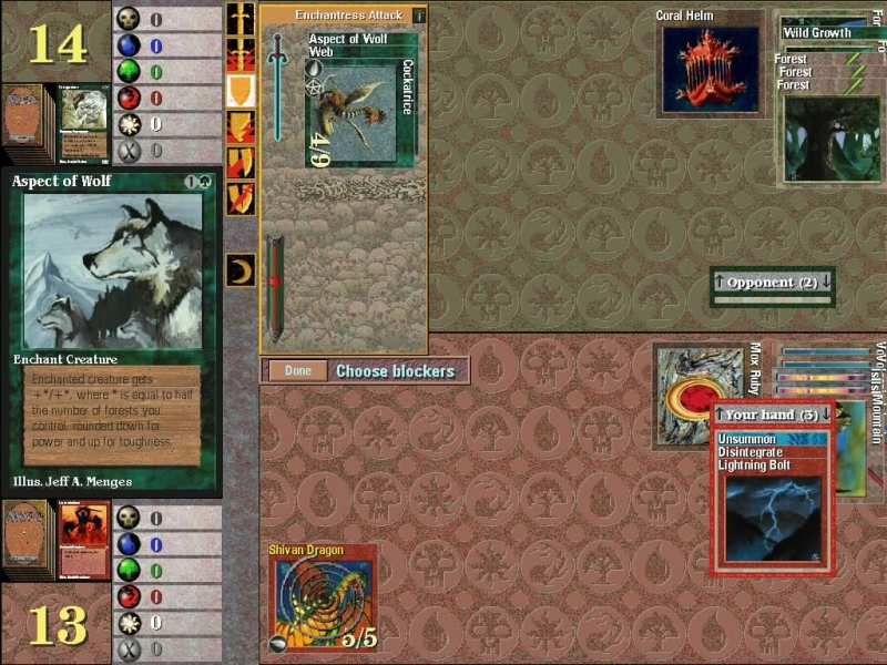 Microprose's Magic: The Gathering - Update 11