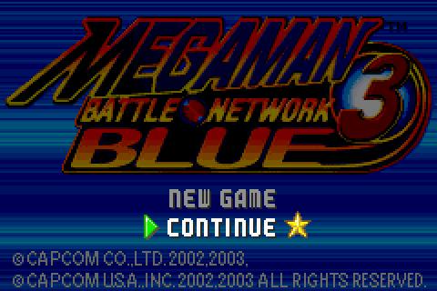 Mega Man Battle Network 3: Blue Part #55 - Starting the PostGame
