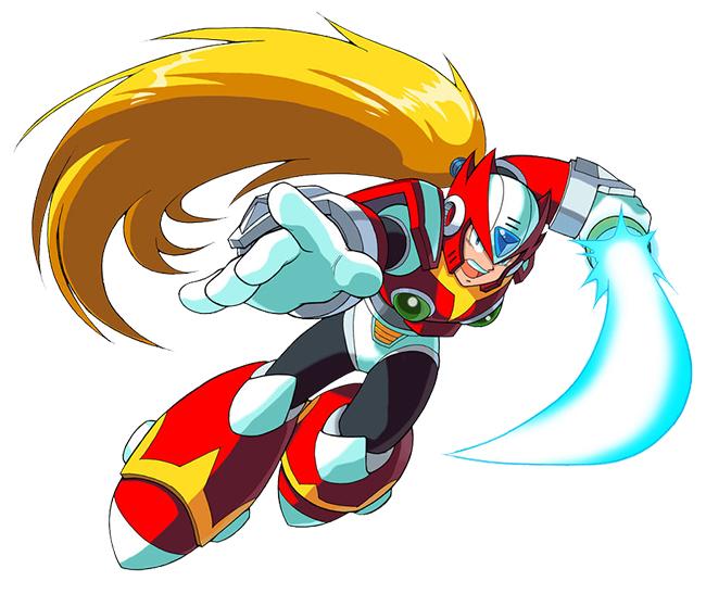 Zero Megaman X4 Mega Man X4