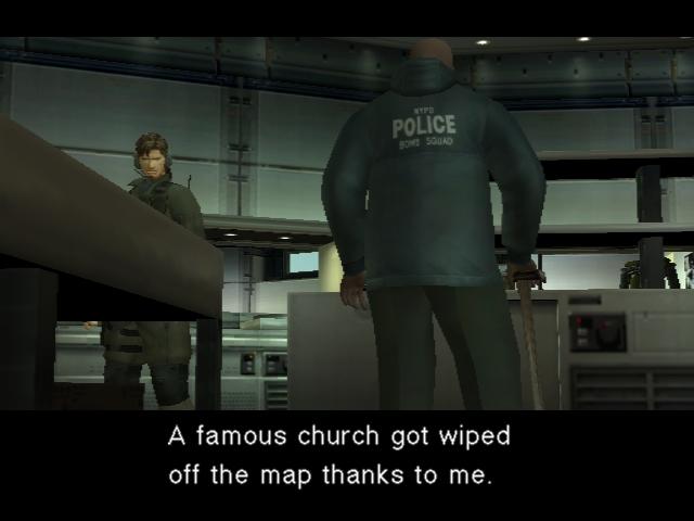 Metal Gear Solid 2 - Update 11