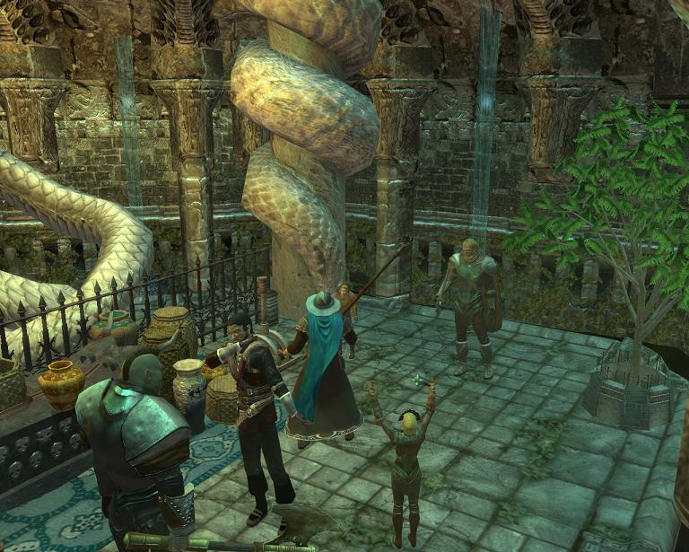 neverwinter how to leave stronghold